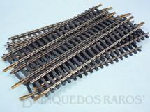 1. Brinquedos antigos - Atma - Trilho reto de ajuste 0205 com 16,00 cm de comprimento Década de 1970 Preço por 10 unidades