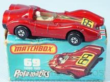 1. Brinquedos antigos - Matchbox - Turbo Fury Rola-Matics