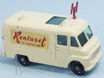 Brinquedos Antigos - Matchbox - TV Service Van Rentalset Decal black plastic Regular Wheels
