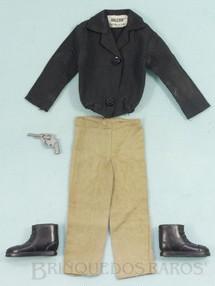 Brinquedos Antigos - Estrela - Uniforme completo Agente Secreto com 4 itens Edição 1977