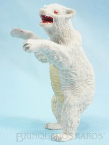Brinquedos Antigos - Casablanca e Gulliver - Urso Branco de p� S�rie Zool�gico D�cada de 1960