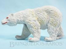 1. Brinquedos antigos - Casablanca e Gulliver - Urso Branco Série Zoológico Década de 1960