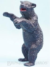 Brinquedos Antigos - Casablanca e Gulliver - Urso negro de p� S�rie Zool�gico D�cada de 1960