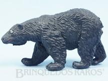 1. Brinquedos antigos - Casablanca e Gulliver - Urso negro Série Zoológico Década de 1960