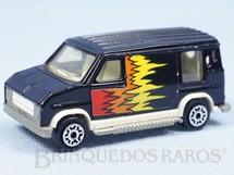 Brinquedos Antigos - Majorette - U.S. Van D�cada de 1980