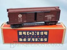 1. Brinquedos antigos - Lionel - Vagão 2458 Box Pennsylvania Automobile Car Ano 1947