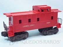 1. Brinquedos antigos - Lionel - Vagão 6017 Caboose Ano 1951 a 1961