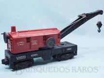 1. Brinquedos antigos - Lionel - Vagão 6560 Bucyrus Erie Crane metal Trucks Ano 1955 a 1958