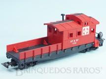 1. Brinquedos antigos - Atma - Conjunto Santa Fé Vagão Caboose Década de 1980