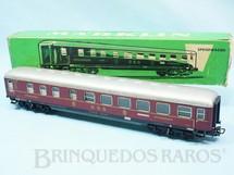 1. Brinquedos antigos - Marklin - Vagão Carro de Passageiros DSG Restaurante vermelho número 4024 Década de 1960