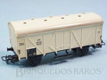 1. Brinquedos antigos - Marklin - Vagão furgão branco Década de 1960