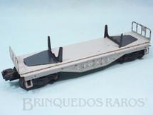 1. Brinquedos antigos - Lionel - Vagão Prancha 6401 Flat Car Ano 1955