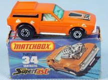 Brinquedos Antigos - Matchbox - Vantastic Superfast
