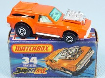 Brinquedos Antigos - Matchbox - Vantastic with motor Superfast