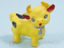 1. Brinquedos antigos - Sem identificação - Vaquinha com 5,00 cm de comprimento Brinde de Ovo de Páscoa Década de 1960
