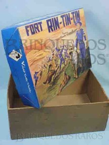 1. Brinquedos antigos - Viocena - Viocena Caixa Forte Rin Tin Tin Década de 1970