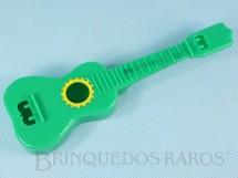 1. Brinquedos antigos - Beija Flôr - Violão para elásticos com 17,00 cm de comprimento Década de 1960