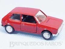 1. Brinquedos antigos - Schuco-Rei - Volkswagen Golf LS vermelho Schuco Modell Brasilianische Schuco Rei