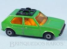Brinquedos Antigos - Matchbox - Volkswagen Golf Superfast verde