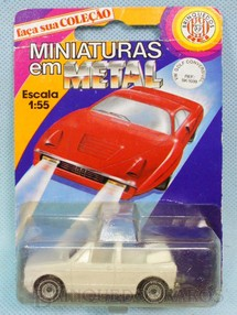 1. Brinquedos antigos - Siku-Rei - Volkswagen Gulf Conversível Brasilianische Siku Blister Lacrado Alfema