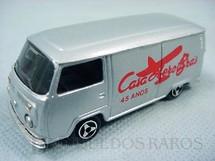 1. Brinquedos antigos - Majorette-Kiko - Volkswagen Kombi Fourgon Comemorativa dos 45 anos da Casa Aero-Brás Majorette Brésilien Kiko Ano 1988