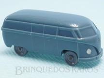 1. Brinquedos antigos - Wiking - Volkswagen Kombi Furgão Janelas Sólidas Década de 1950