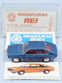 1. Brinquedos antigos - Schuco-Rei - Volkswagen Passat TS Schuco Modell Brasilianische Schuco Rei completo com Catálogo e Cromo