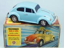Brinquedos Antigos - Estrela - Volkswagen Sedan com 26,00 cm de comprimento Perfeito estado 100% original Versão de Passeio Sistema Bate e Volta Anos 1977 a 1979