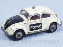 1. Brinquedos antigos - Corgi Toys-Husky - Volkswagen Sedan Police Husky Blister aberto  Importado e Distribuído pela Estrela Ano 1970
