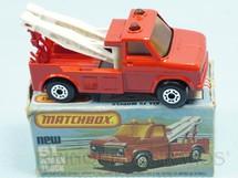 Brinquedos Antigos - Matchbox - Wreck Truck Superfast vermelho