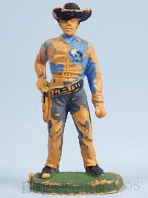 1. Brinquedos antigos - Casablanca e Gulliver - Xerife de pé sacando o revolver