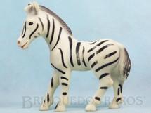 1. Brinquedos antigos - Estrela - Zebra com 18,00 cm de comprimento Década de 1970