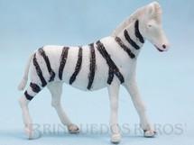 1. Brinquedos antigos - Casablanca e Gulliver - Zebra Série Zoológico Década de 1960