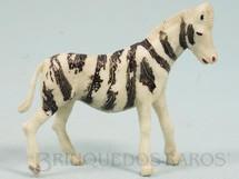 Brinquedos Antigos - Casablanca e Gulliver - Zebra Série Zoológico Década de 1960