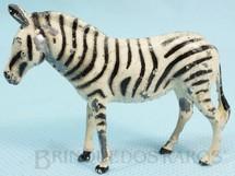 1. Brinquedos antigos - Britains - Zebra Zoo Série Década de 1950