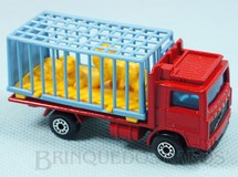1. Brinquedos antigos - Matchbox - Zoo Truck Superfast vermelho