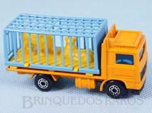 Brinquedos Antigos - Matchbox - Zoo Truck Superfast laranja