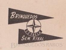 Brinquedos antigos -  - Estrela Logotipo Ano 1958