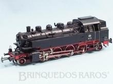 Brinquedo antigo Marklin Hamo Corrente Contínua Locomotiva Tanque a Vapor Classe BR 386 Rodagem 1`D 1