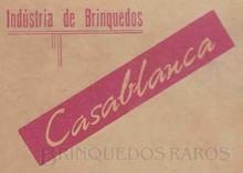 Brinquedos antigos -  - Indústria de Brinquedos Casablanca Logotipo da época da sua fundação Ano 1964