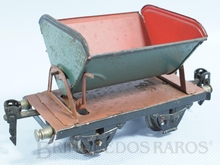 Brinquedo antigo Marklin Vagão Basculante lateral Ano 1933 a 1954 Número 1972 Operacional Comprimento 14,00 cm