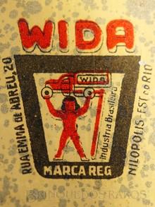 Brinquedos antigos -  - Logotipo Wida primeira fabrica brasileira de brinquedos com Exemplares conhecidos Este Logotipo encontra-se estampado nos brinquedos da empresa Ano 1932