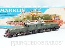 Brinquedo antigo Marklin Locomotiva Elétrica Biarticulada Classe Ce6/8 Rodagem (1`C) (C1`) Krokodil Crocodilo Ferrovia Suíça Número 3015 Classificação Koll
