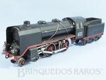 Brinquedo antigo Marklin Locomotiva a Vapor rodagem 2