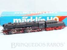 Brinquedo antigo Marklin Locomotiva a Vapor Classe Mallet BR 53 Rodagem (1