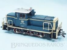 Brinquedo antigo Marklin Locomotiva Diesel Hidráulica Classe BR 260 Rodagem C Ferrovia Alemã Número 3141 Classificação Koll