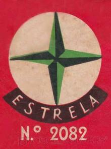 Brinquedos antigos -  - Logotipo Estrela impresso na Caixa do jogo Bola na Rêde Ano 1958