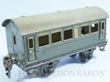 Brinquedo antigo Marklin Carro de Passageiros Segunda e Terceira Classes número 17250 Ano 1931 até 1952 Comprimento 18,00 cm
