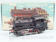 Brinquedo antigo Marklin Locomotiva Tanque a Vapor Classe BR 89 Rodagem C Ferrovia Alemã Número 3000 Classificação Koll
