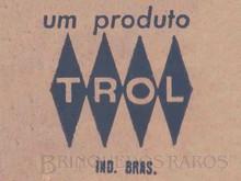 Brinquedos antigos -  - Logotipo Trol Década de 1960